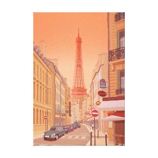 Impressão Em Tela Torre Eiffel Paris