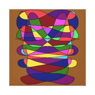 Impressão Em Tela Trabalhos de arte abstratos do design do urso
