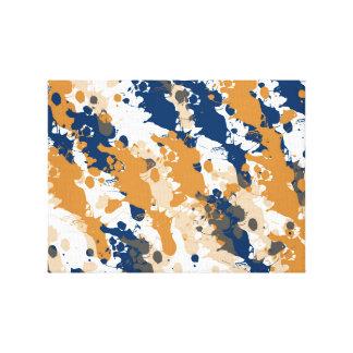 Impressão Em Tela Trabalhos de arte originais do Splatter