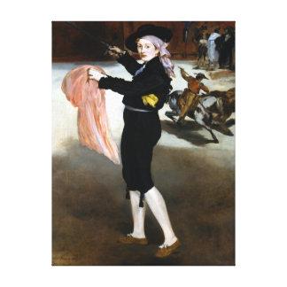 Impressão Em Tela Traje da senhorita V de Édouard Manet de Espada