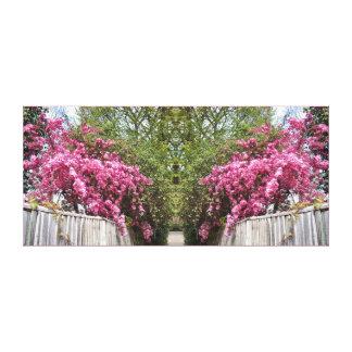 Impressão Em Tela Trajeto da flor