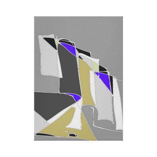 Impressão Em Tela Um furo na parede