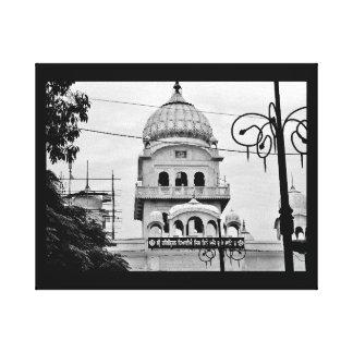 Impressão Em Tela Um templo em India