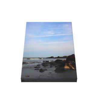 Impressão Em Tela Uma noite na praia do falcão