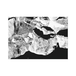 Impressão Em Tela Uma vista do espaço. Arte abstracta