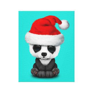 Impressão Em Tela Urso de panda do bebê que veste um chapéu do papai