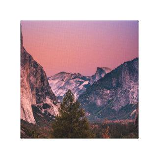 Impressão Em Tela Vale de Yosemite