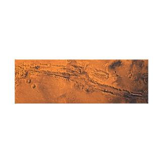 Impressão Em Tela Vale Marte do navegador de Valles Marineris