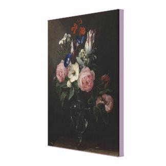 Impressão Em Tela Vaso das flores daqui até janeiro Brueghel a