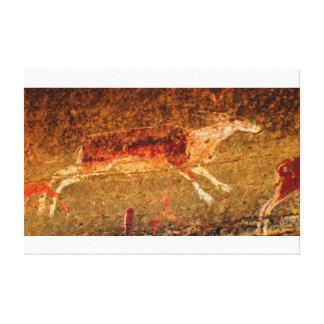 Impressão Em Tela Veado vermelho de Lascaux