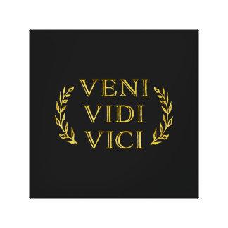 Impressão Em Tela Vencedor engraçado do jogo de Veni Vidi Vici