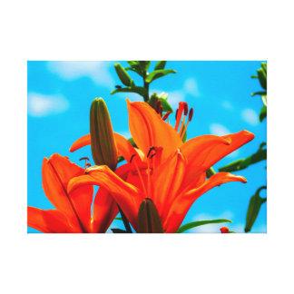 Impressão Em Tela Verão na laranja