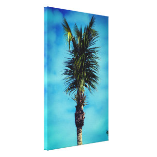 Impressão Em Tela Vertical agradável & simples da palmeira