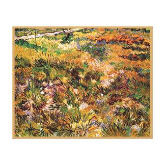 Impressão Em Tela Vincent van Gogh - prado nas belas artes do jardim