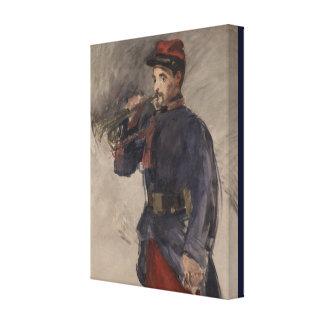 Impressão Em Tela Vintage o Bugler por Edouard Manet