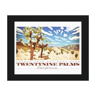 Impressão Em Tela Vinte e nove palmas Califorina