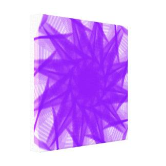 Impressão Em Tela violeta
