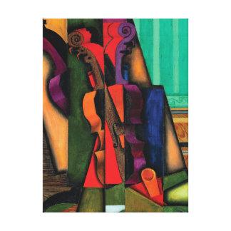 Impressão Em Tela Violino e guitarra por Juan Gris