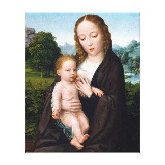 Impressão Em Tela Virgin e criança de Simon Bening