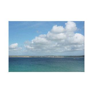 Impressão Em Tela Vista de St Ives