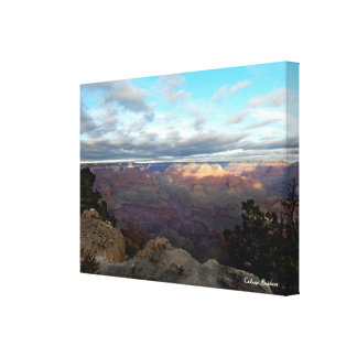 Impressão Em Tela Vista panorâmica do Grand Canyon