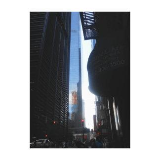 Impressão Em Tela Wall Street, Nova Iorque