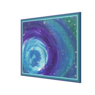 Impressão Em Tela Watercolour universal do amor