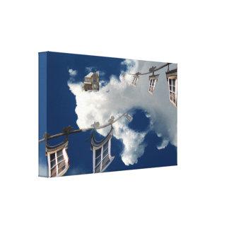 Impressão Em Tela Windows no céu