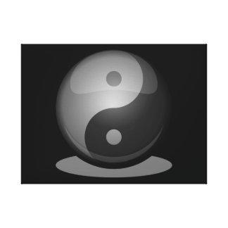 Impressão Em Tela Yin yang