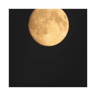 Impressão enorme da lua