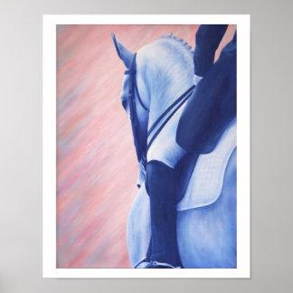 Impressão eqüino do poster do cavalo do