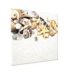Impressão esticado Seashells das canvas Impressão Em Tela Canvas