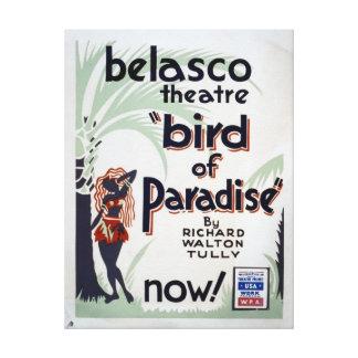 Impressão esticado vintage das canvas do -Paraíso Impressão Em Tela Canvas