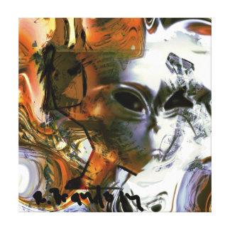 """Impressão """"estrangeiro"""" da pintura das canvas da g impressão em tela"""