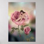 Impressão feericamente da arte do poster da flor c
