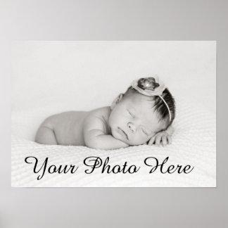 Impressão feito sob encomenda da foto do bebê para