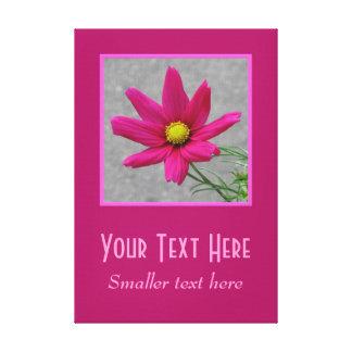 Impressão feito sob encomenda das canvas da flor c impressão em canvas
