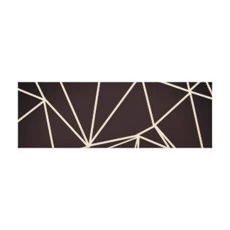 Impressão geométrico das canvas dos animais