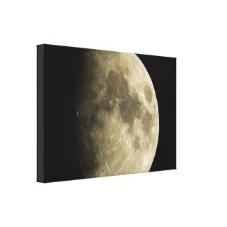 Impressão grande das canvas da lua