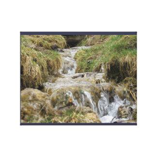 Impressão impressionante da cachoeira