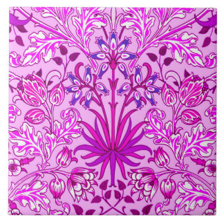 Impressão, lavanda e violeta do jacinto de William