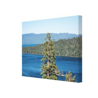 Impressão majestoso das canvas de Lake Tahoe