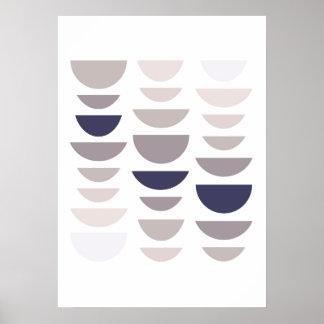 Impressão moderno abstrato. Arte home geométrica