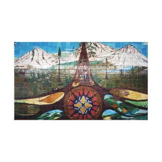 Impressão mural das canvas