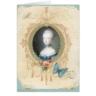 Impressão novo da arte da borboleta de Marie Antoi Cartão
