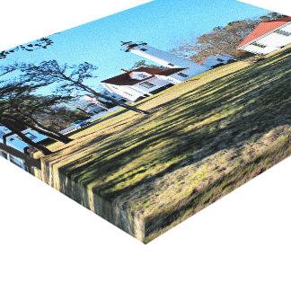 Impressão ocidental das canvas do vinhedo de