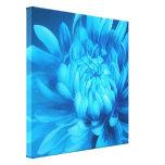 Impressão original das belas artes das canvas flor impressão de canvas envolvida