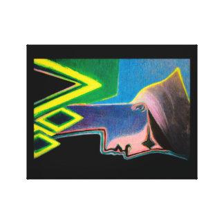 Impressão original das belas artes em canvas