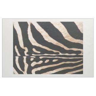 Impressão penteado da zebra do tecido do algodão