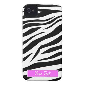 Impressão preto/branco da zebra - personalize capinhas iPhone 4